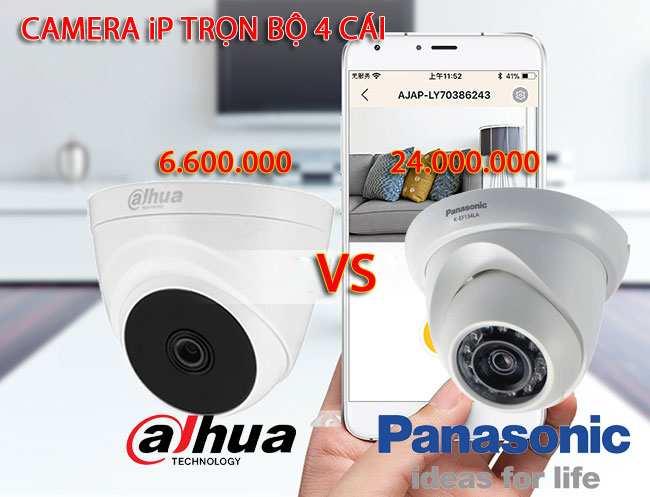 lắp camera quan sát giá rẻ dahua