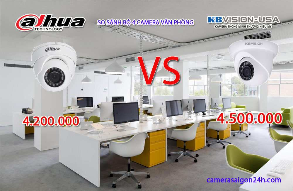 lắp camera dahua và camera kbvision