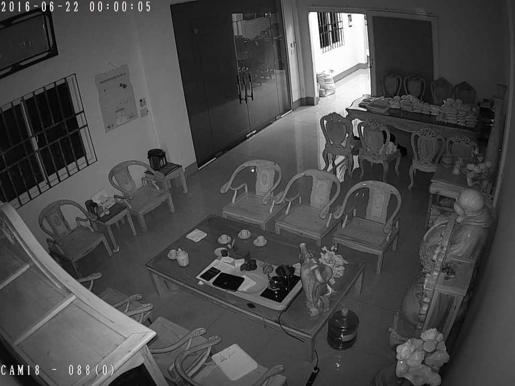 Lắp camera quan sát hồng ngoại giám  sát ban đêm hình ảnh trắng đen