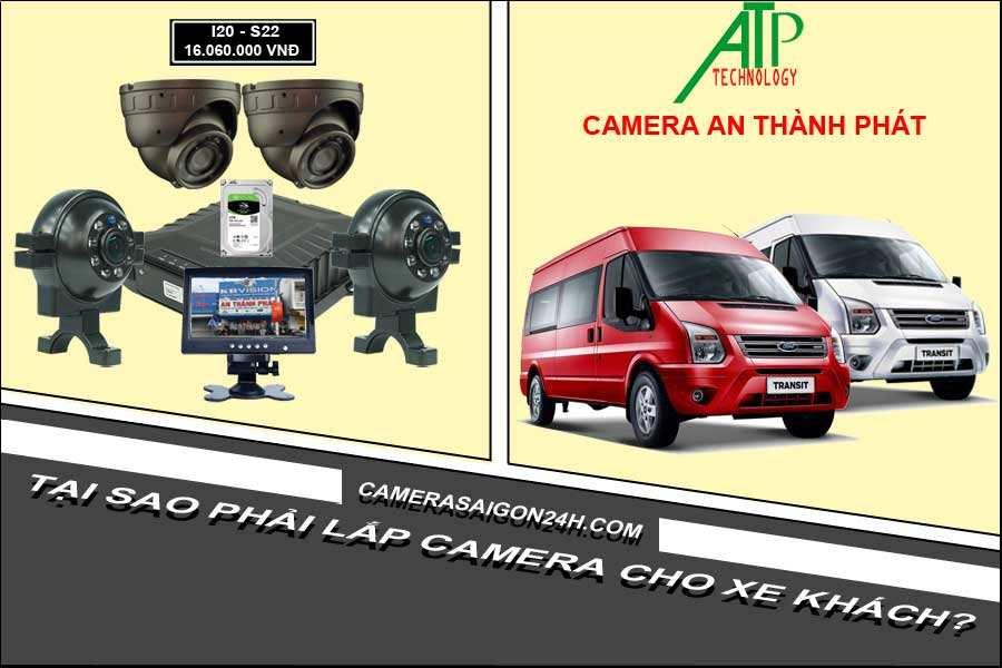 tại sao phải lắp camera cho xe khách?