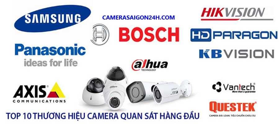 Các thương hiệu hàng đầu camera quan sát cho gia đình