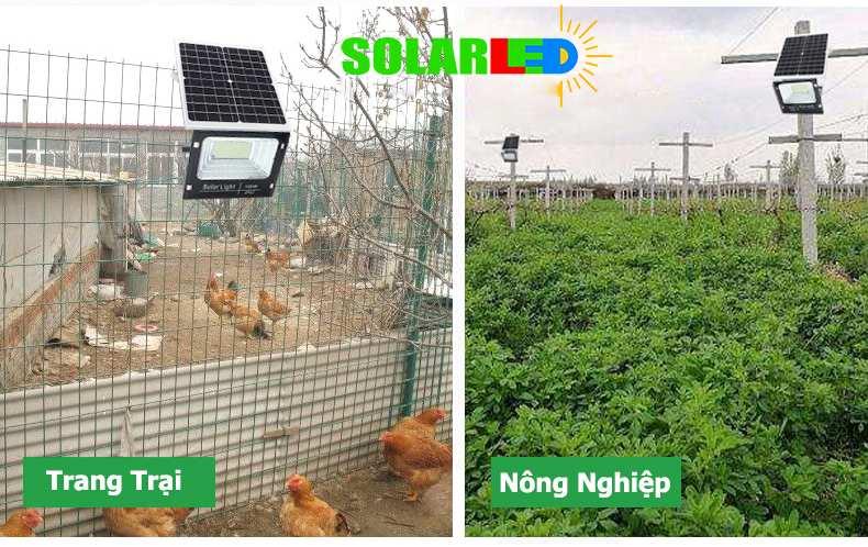 Nên mua đèn năng lượng mặt trời loại nào cho trang trại?  Đèn LED Pha năng lượng mặt trời thích hợp ... Với nhu cầu chiếu sáng cho trang trại chăn nuôi, bạn có thể  nhỏ gọn dễ dàng lắp đặt và khả năng chiếu