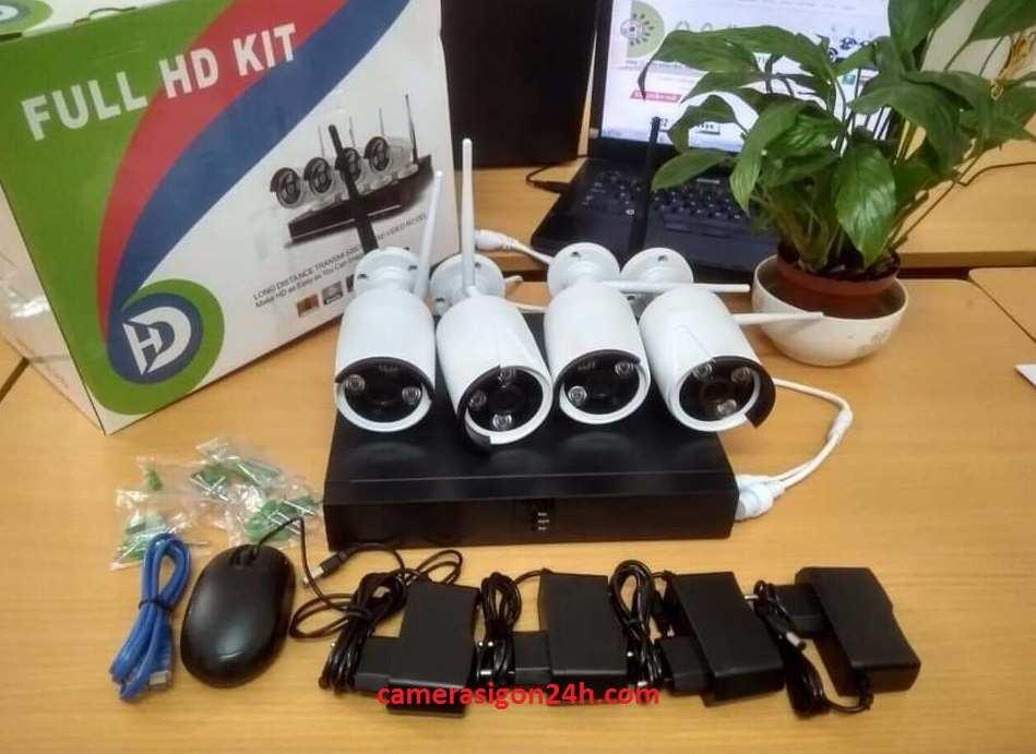 trọn bộ camera giám sát chất lượng tốt