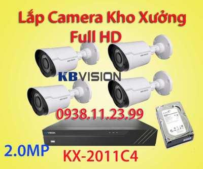 Lắp đặt camera quan sát kho xưởng FULL HD 1080, kx-2011c4, camera kho xưởng giá rẻ, camera nhà xưởng giá rẻ, camera giám sát xưởng sản xuất