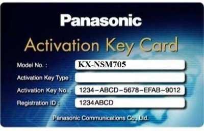 Activation key mở rộng tổng đài IP PANASONIC KX-NSM705, PANASONIC KX-NSM705, KX-NSM705