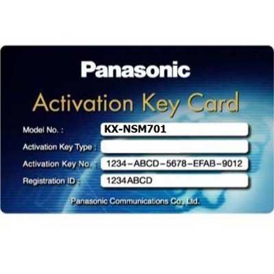 Activation key mở rộng IP PANASONIC KX-NSM701, PANASONIC KX-NSM701, KX-NSM701