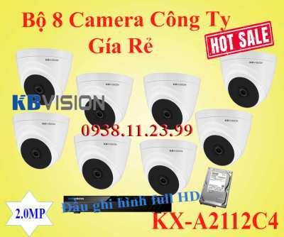 Lắp đặt camera Lắp Bộ 8 Camera Quan Sát Công Ty Gía Rẻ