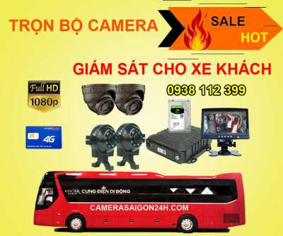 Lắp đặt camera Trọn Bộ Camera Giám Sát Cho Xe Khách