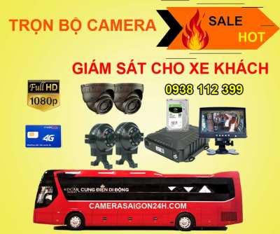 Lắp đặt camera tân phú Trọn Bộ Camera Giám Sát Cho Xe Khách