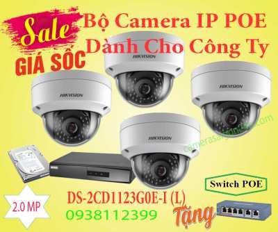 Lắp đặt camera tân phú Bộ Camera IP POE Dành Cho Công Ty