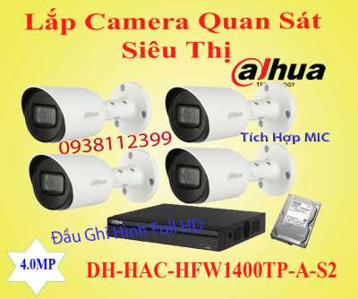 Lắp đặt camera Lắp Camera Quan Sát Siêu Thị Gía Rẻ