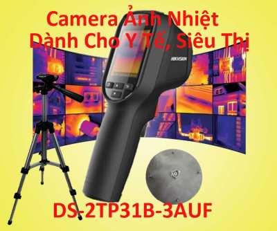 Lắp Camera Cảm Biến Ảnh Nhiệt Dành Cho Y tế, Siêu Thị,camera cảm biến ảnh nhiệt DS-2TP31B-3AUF,camera cảm biến ảnh nhiệt DS-2TP31B, DS-2TP31B-3AUF,