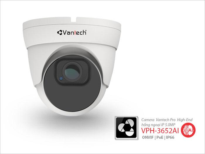 VPH-3652AI, camera quan sát IP VPH-3652AI, Lắp camera quan sát vantech VPH-3652AI, lắp đặt camera quan sát VPH-3652AI, camera quan sát hồng ngoại 5.0 megapixel VPH-3652AI,camera AI ip 5.0 megapixel.