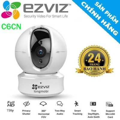 Camera wifi  quay xoay thông minh EZVIZ C6CN H.265,EZVIZ C6CN H.265,C6CN H.265,C6CN