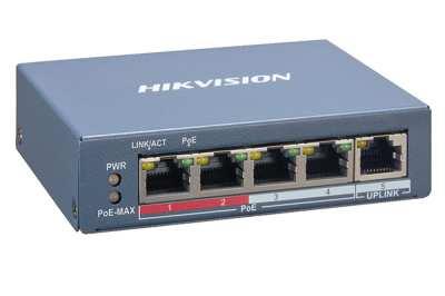 Switch mạng thông minh 4 cổng PoE DS-3E1105P-EI,DS-3E1105P-EI,3E1105P-EI