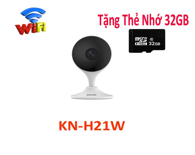 lắp dặt camera wifi kbone chất lượng,KBONE-KN-H21W,KN-H21W,H21W,lắp đặt camera wifi,camera âm thanh,camera gia đình,lắp camera wifi kbone giá rẻ