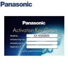 Panasonic KX-NSN002X tạo thành hệ thống QSIG, Panasonic KX-NSN002X, KX-NSN002X