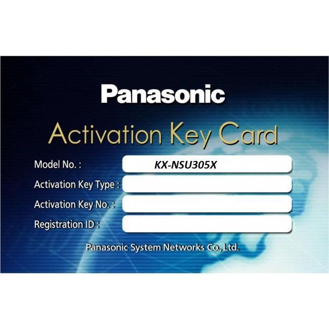 Phần mềm cho phép 05 người sử dụng ghi âm 2 chiều Panasonic KX-NSU305X, Panasonic KX-NSU305X, KX-NSU305X