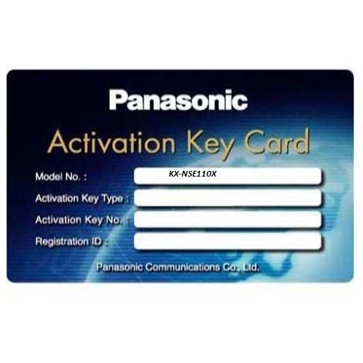 Phần mềm cho phép 10 người sử dụng qua di động Panasonic KX-NSE110X, Panasonic KX-NSE110X, KX-NSE110X