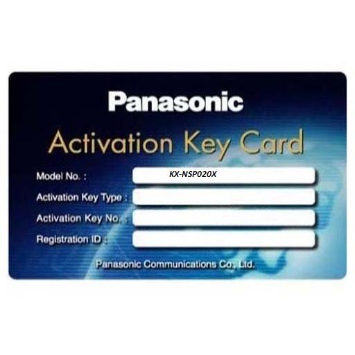 Phần mềm cung cấp cho 20 người sử dụng Email Panasonic KX-NSP020X, Panasonic KX-NSP020X, KX-NSP020X