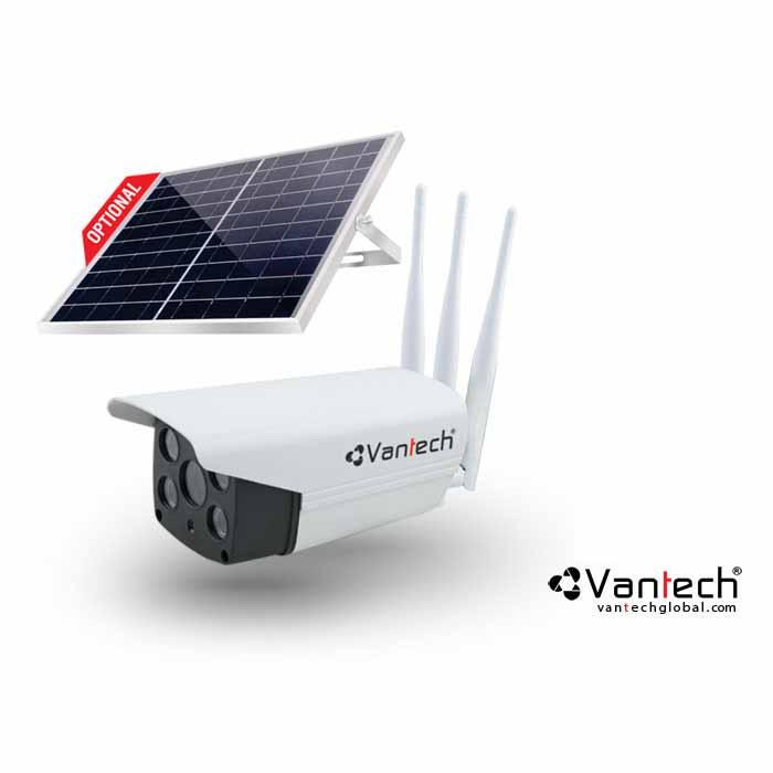 Vantech-AI-V2034E,AI-V2034E,V2034E,Camera AI Solar Wifi 6MP kết nối mạng 4G Vantech AI-V2034E