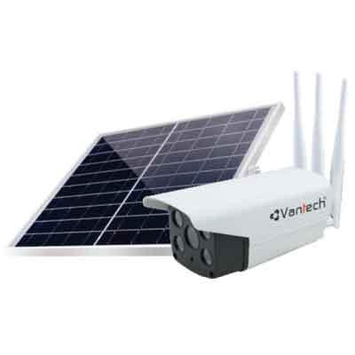 Vantech-AI-V2034,AI-V2034,V2034,camera năng lương mặt trời,