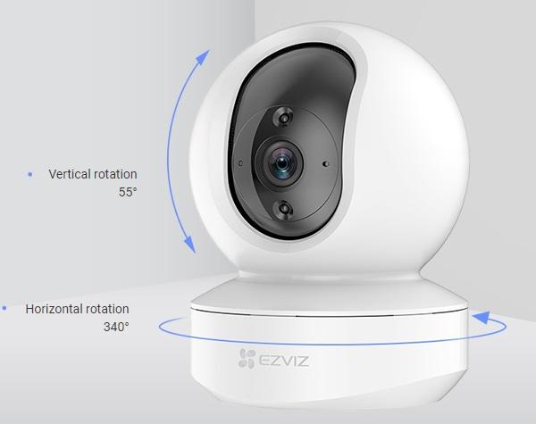Camera wifi mini EZVIZ CS-TY1-B0-1G2WF,EZVIZ CS-TY1-B0-1G2WF,CS-TY1-B0-1G2WF,TY1