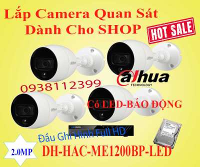 Lắp đặt camera Lắp Camera Dành Cho Shop Có Báo Động