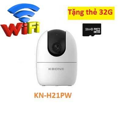 lắp camera wifi KBONE-KN-H21PW,camera quan sát h21PW,KBONE-KN-H21PW,KN-H21PW,H21PW,lắp đặt camera wifi,lắp đặt camera gia đình,camera quay xoay,