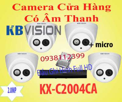 camera quan sat cua hang co am thanh