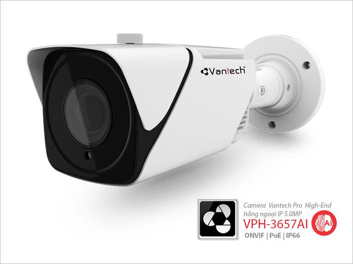 VPH-3656AI, camera cảm biến hồng ngoại VPH-3656AI, lăp đặt camera quan sát hồng ngoại AI, Camera Hồng Ngoại Cảm Biến AI IP Vantech VPH-3656AI