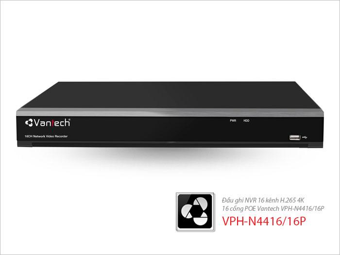 VPH-N4416/16P,Đầu Ghi Hình Kĩ Thuật Số VPH-N4416/16P, Đầu ghi VPH-N4416/16P, đầu ghi hình kĩ thuật số chính hãng VPH-N4416/16P, lắp đặt đầu ghi kĩ thuật số VPH-N4416/16P