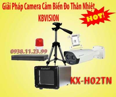 Giải Pháp Camera Cảm Biến Đo Thân Nhiệt KBVISION,camera cảm biến hình ảnh KX-H02TN,camera cảm biến thân nhiệt KX-H02TN, camera cảm biến đo thân nhiệt, kx-h02tn