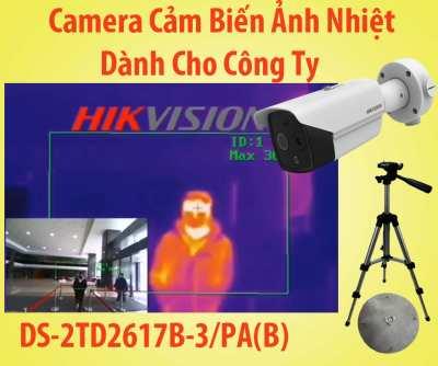 Lắp Camera Cảm Biến Dành Cho Công Ty DS-2TD2617B-6/PA(B)