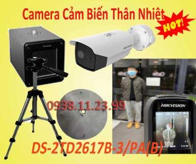 Camera Cảm Biến Thân Nhiệt DS-2TD2617B-3/PA(B),camera thân nhiệt, camera giám sát bệnh nhất, lắp camera cảm biến, camera cảm cảm thân nhiệt, camera cảm biến nhiệt độ