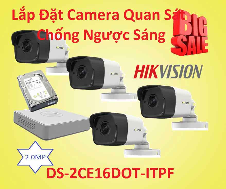 Lắp đặt camera quan sát chống ngược sáng gía rẻ  ds-2ce16dot-itpf, DS-2CE16DOT-ITPF, camera quan sát ds-2ce16dot-itpf, lắp camera chống ngược sáng, camera chống ngược sáng, camera chống ngược sáng giá rẻ