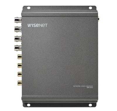 SPE-410A,WISENET SAMSUNG-SPE-410A,Bộ giải mã tín hiệu camera IP 4 kênh Hanwha Techwin WISENET SPE-410A