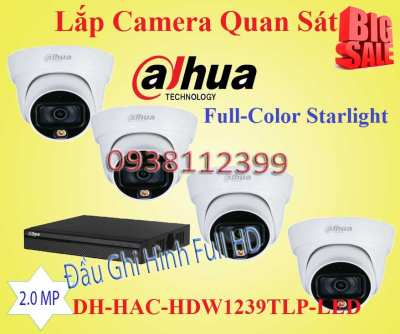 Lắp đặt camera tân phú Lắp Camera Quan Sát Hỗ Trợ Full-Color Starlight