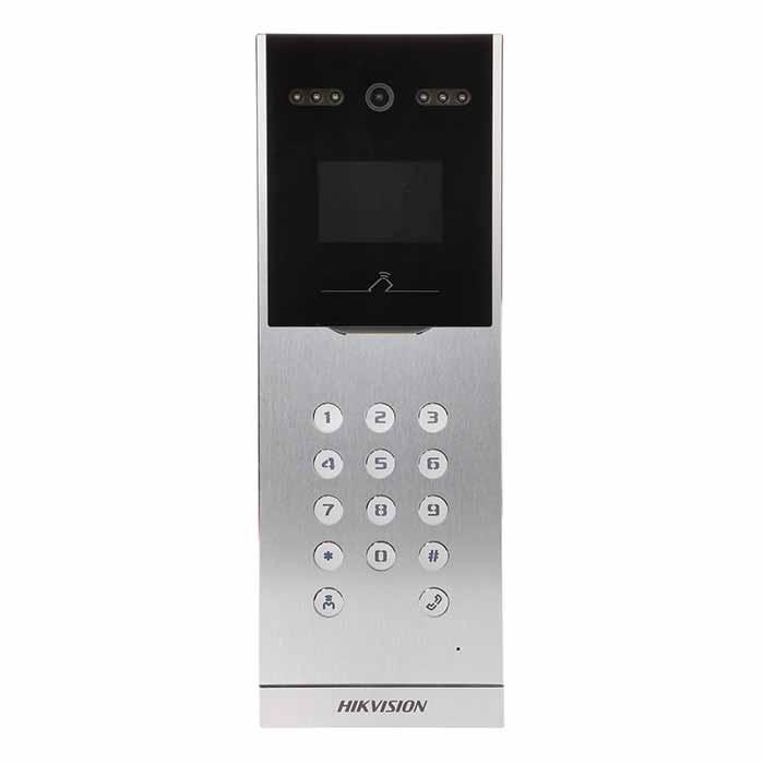 DS-KD8002-VM,chuông cửa IP HIKVISION DS-KD8002-VM,chuông cửa trung tâm IP HIKVISION DS-KD8002-VM,Chuông cửa Camera trung tâm IP HIKVISION DS-KD8002-VM