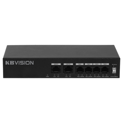 KX-ASW04P2,Switch POE 6 cổng KBVISION KX-ASW04P2,KBVISION-KX-ASW04P2