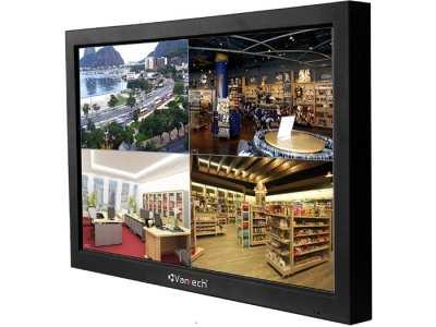 VP-1632AHD,Màn hình tích hợp ghi hình VANTECH VP-1632AHD,Đầu ghi hình 16 kênh camera AHD/Analog/IP tích hợp màn hình VANTECH VP-1632AHD