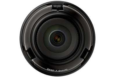 Hanwha Techwin SLA-5M7000P,Samsung SLA-5M7000P,Ống kính camera 5.0 Megapixel Hanwha Techwin WISENET SLA-5M7000P,SLA-5M7000P