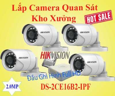 Lắp Đặt Camera Quan Sát Cho Kho Xưởng Gía Rẻ, camera kho hàng, camera nhà xưởng, camera quan sát xưởng sản xu7a6t1, lắp đặt camera quan sát nhà xưởng