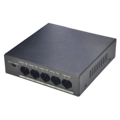 DH-PFS3005-4P-58,Switch POE Dahua 5P PFS3005-4P-58,DAHUA PFS3005-4P-58,Switch PoE hai lớp Dahua DH-PFS3005-4P-58