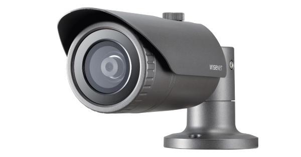 Camera Wisenet QNO-8020R,QNO-8020R,Camera thân IP hồng ngoại QNO-8020R WISENET,Camera IP hồng ngoại 5.0 Megapixel Hanwha Techwin WISENET QNO-8020R