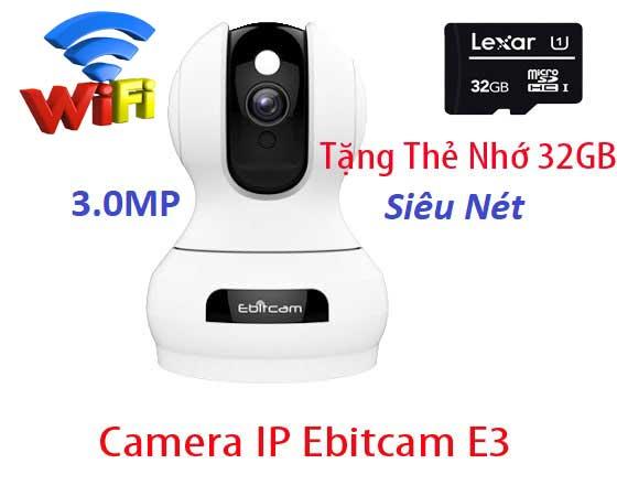 Ebitcam E3lắp đặt camera quan sát Ebitcam E3 dòng camera wifi siêu nét siêu bền siêu chất lượng lắp camera ebitcam là lựa chọn hàng đầu cho chất lượng camera ebitcam hình ảnh sáng đẹp chất lượng tốt, giải pháp lắp camera ebitcam hình ảnh siêu net