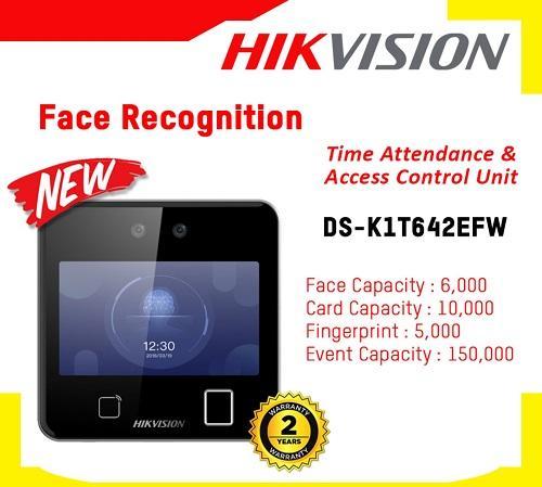DS-K1T642EFW,Máy chấm công nhận diện khuôn mặt Hikvision DS-K1T642EFW,Hikvision DS-K1T642EFW,lắp đặt thiết bị máy chấm công giá rẻ,bán máy chấm công nhận diện khuôn mặt,phân phối thiết bị chấm công thông minh