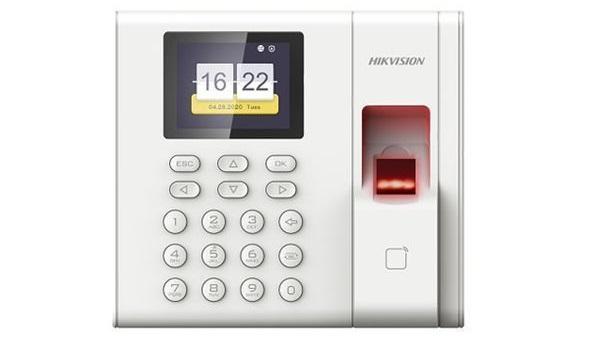 Máy chấm công vân tay, thẻ HIKVISION DS-K1A8503MF,DS-K1A8503MF,Máy Chấm Công Vân Tay HIKVISION DS-K1A8503MF,Bán máy chấm công vân tay HIKVISION DS-K1A8503MF giá rẻ
