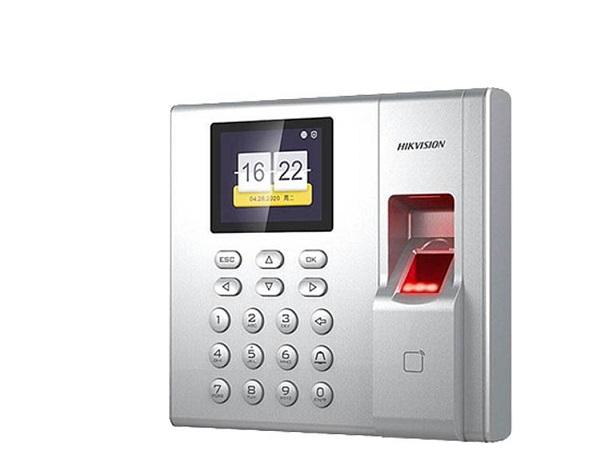 DS-K1A8503EF-B,Máy chấm công vân tay thẻ từ HIKVision DS-K1A8503EF-B,lắp thiết bị chấm công giá rẻ,lắp đặt phân phối thiết bị điện thông minh,HIKVISION DS-K1A8503EF-B