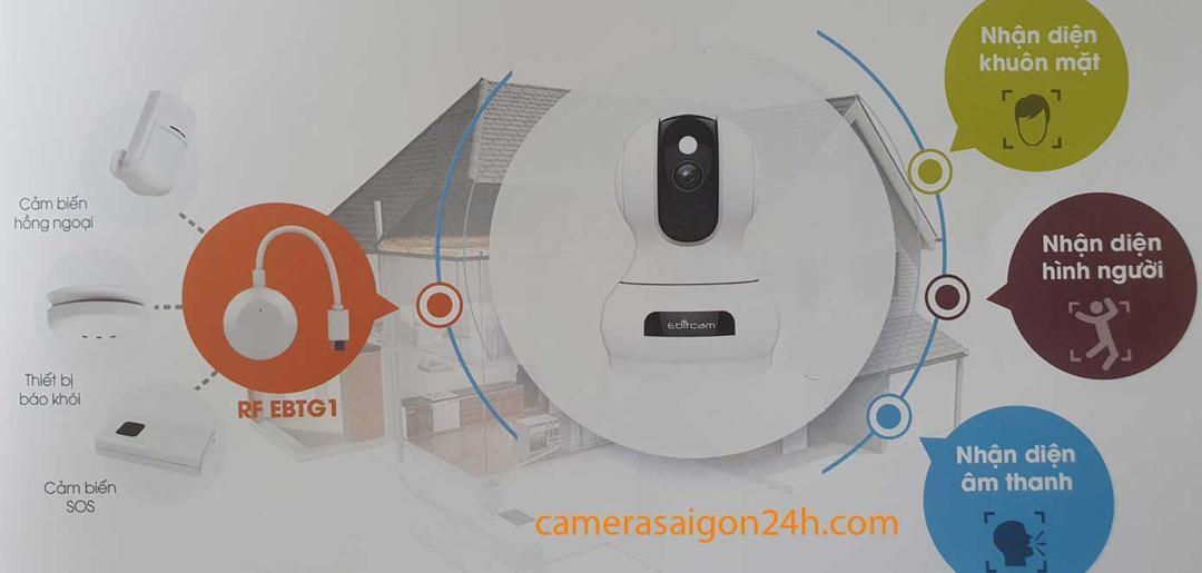 lắp đặt camera giám sát Ebitcam chất lượng uy tín